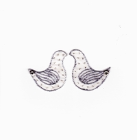 Wedding / Engagement Card - Doves