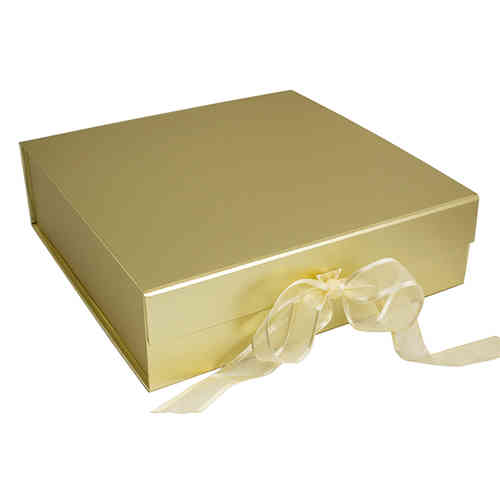 Gift Box for Message Plate - Gold