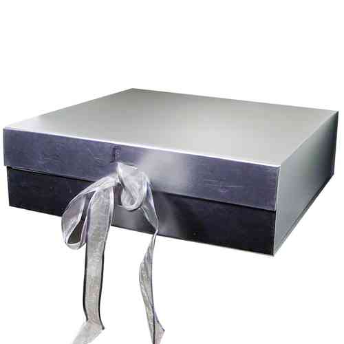 Gift Box for Message Plate - Silver