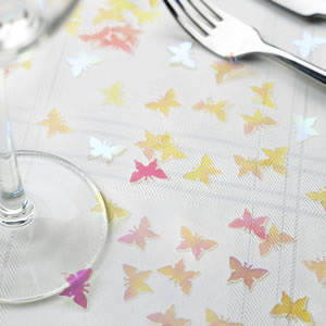 Iridescent Butterfly Table Confetti