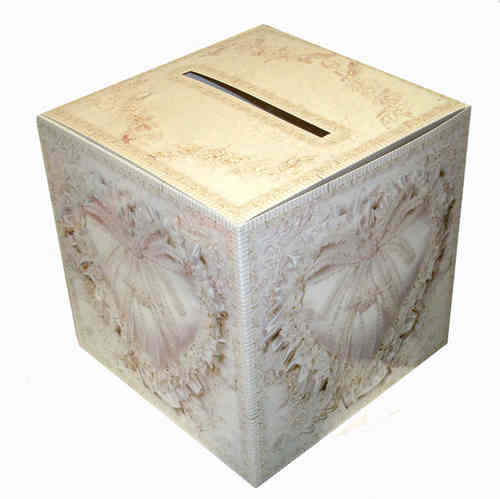 Square Post Box - Heart Design