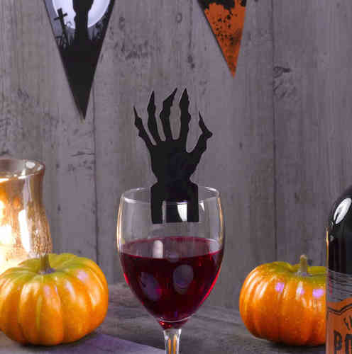 Halloween Glass Decorations