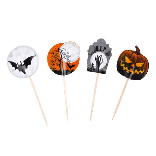 Graveyard Gathering Cake Picks