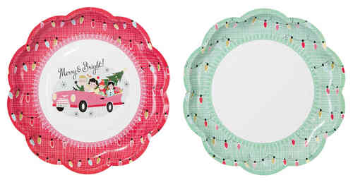 Christmas at our House - Paper Plates
