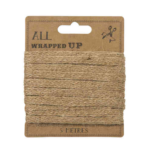 Hessian Gift Wrapping Ribbon