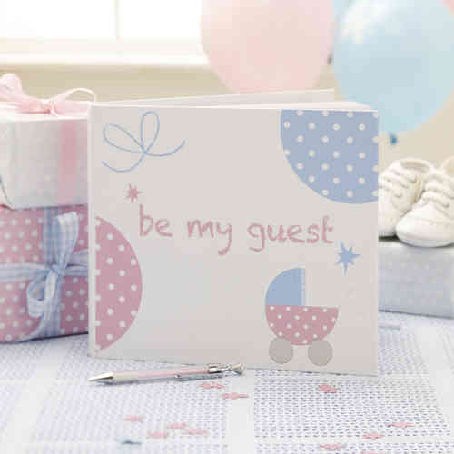 Tiny Feet - Baby Shower Guest Book