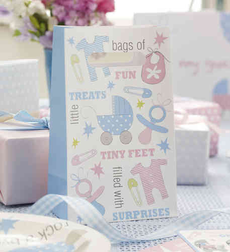 Tiny Feet - Baby Shower Party Bags