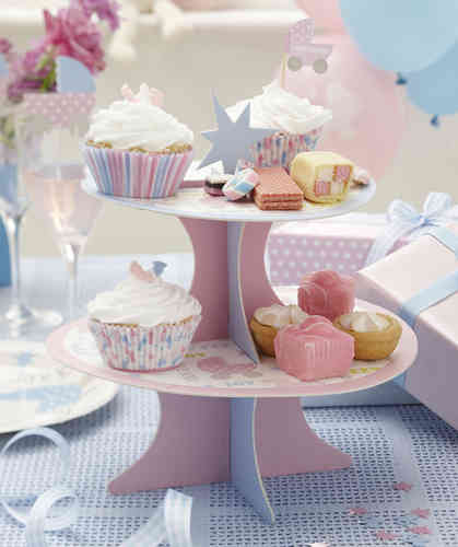 Tiny Feet - Baby Shower Cake Stand