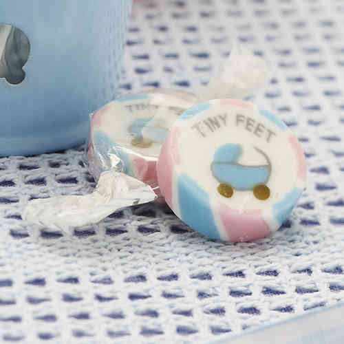 Tiny Feet - Baby Shower Rock Sweets