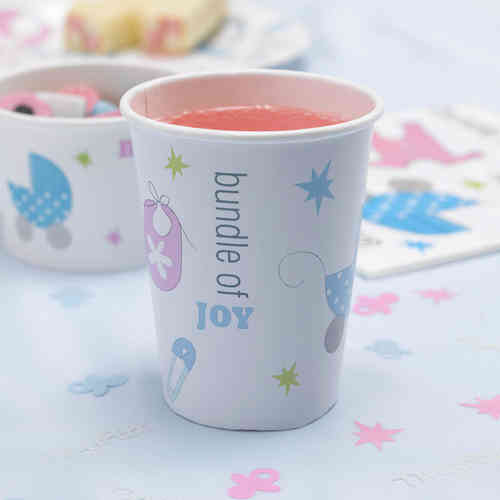 Tiny Feet - Baby Shower Paper Cups