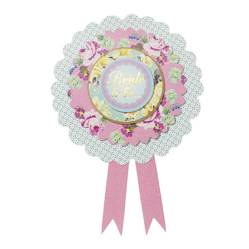 Truly Scrumptious - Bride to Be Rosette