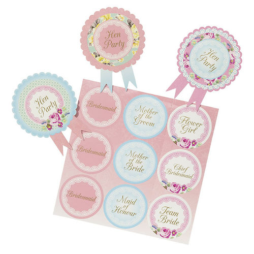 Truly Scrumptious - Hen Party Badges