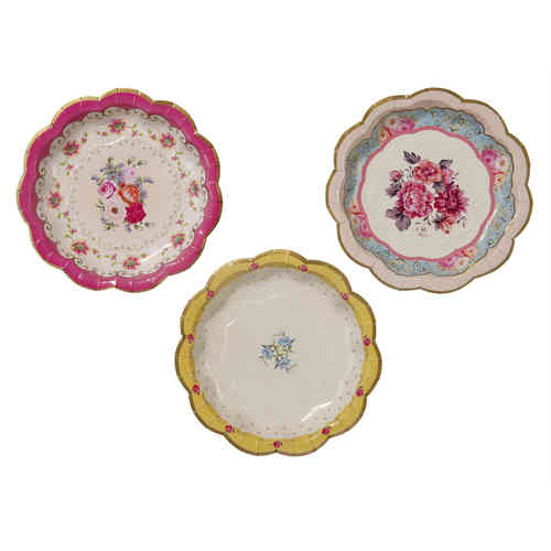 Truly Scrumptious - Small Paper Plates  sc 1 st  Sparkle Boutique : luxury disposable tableware - pezcame.com