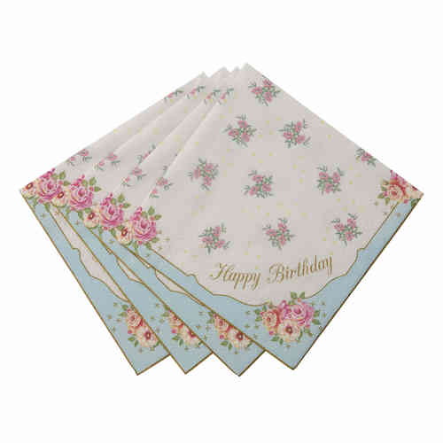 Truly Scrumptious - Happy Birthday Napkins