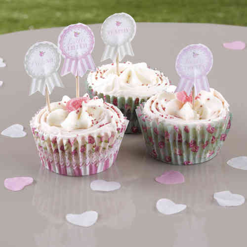 Frills & Spills - Cake Picks