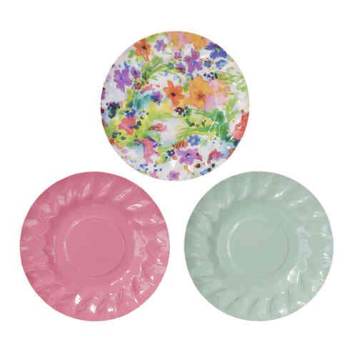 Floral Fiesta - Canapé Plates  sc 1 st  Sparkle Boutique & Posh Paper Plates