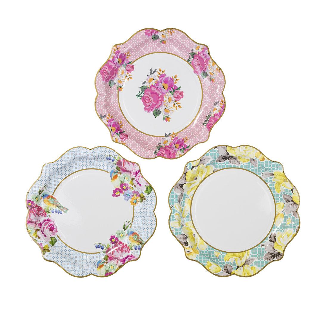 Truly Scrumptious Medium Paper Plates
