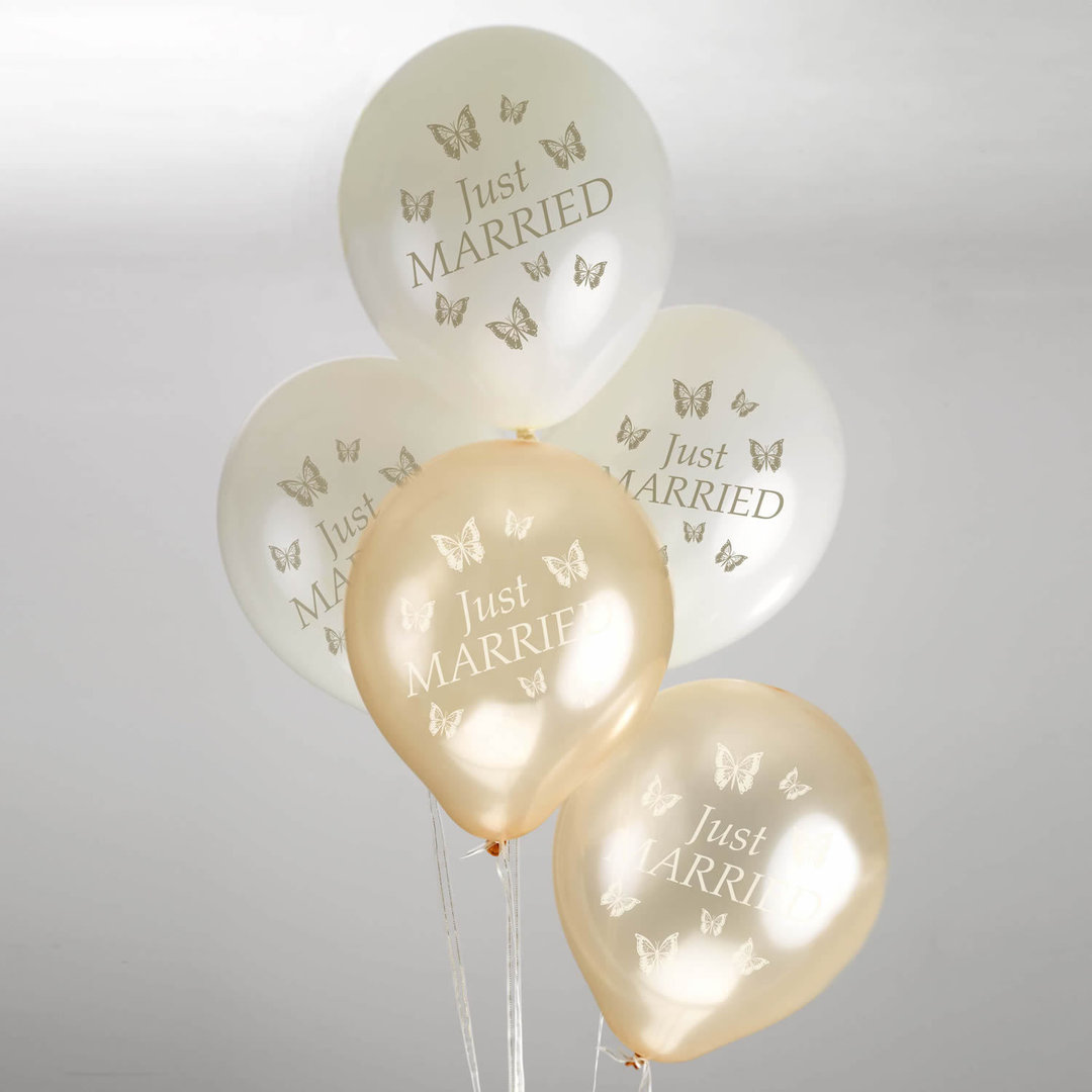 Butterfly Wedding Balloons
