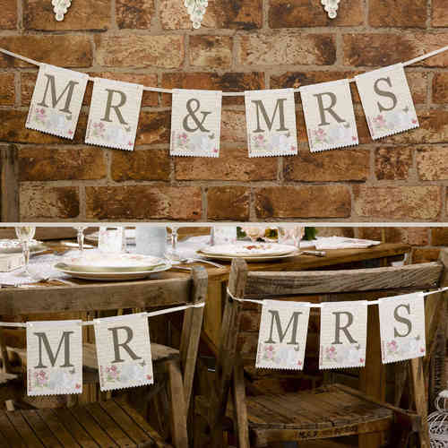 With Love - Mr & Mrs Bunting