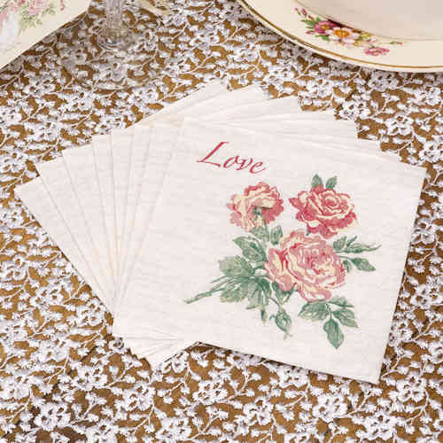 With Love - Paper Napkins