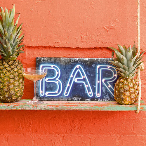 Light Up 'BAR' Sign