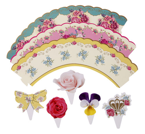 Truly Scrumptious - Cake Wraps & Toppers