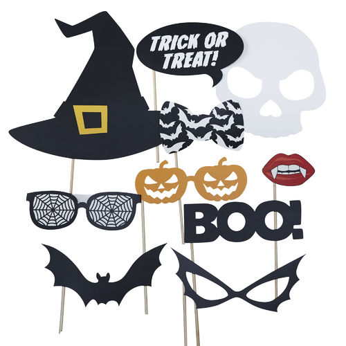 Halloween Party Photo Booth Props