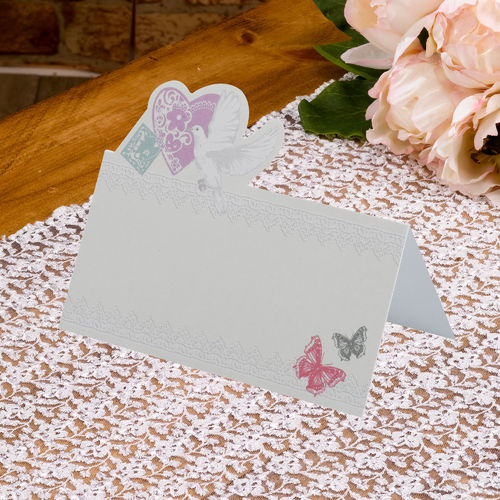 With Love - Place Name Cards