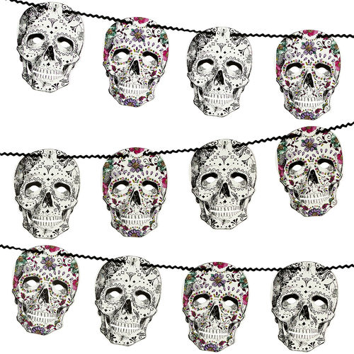 Day of the Dead Halloween Garland