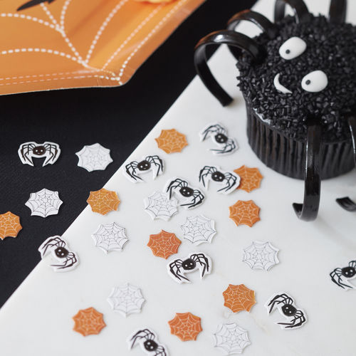 Spooky Spider Table Scatter