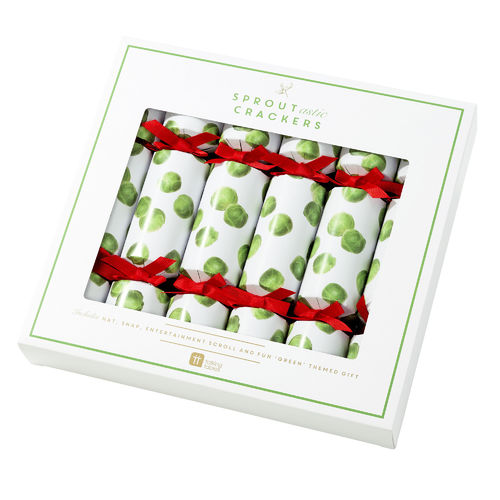 Sprout-astic Christmas Crackers