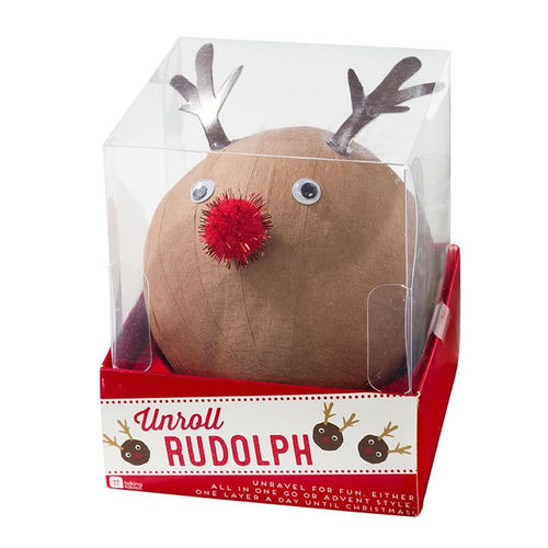 Unroll Rudolph Christmas Game
