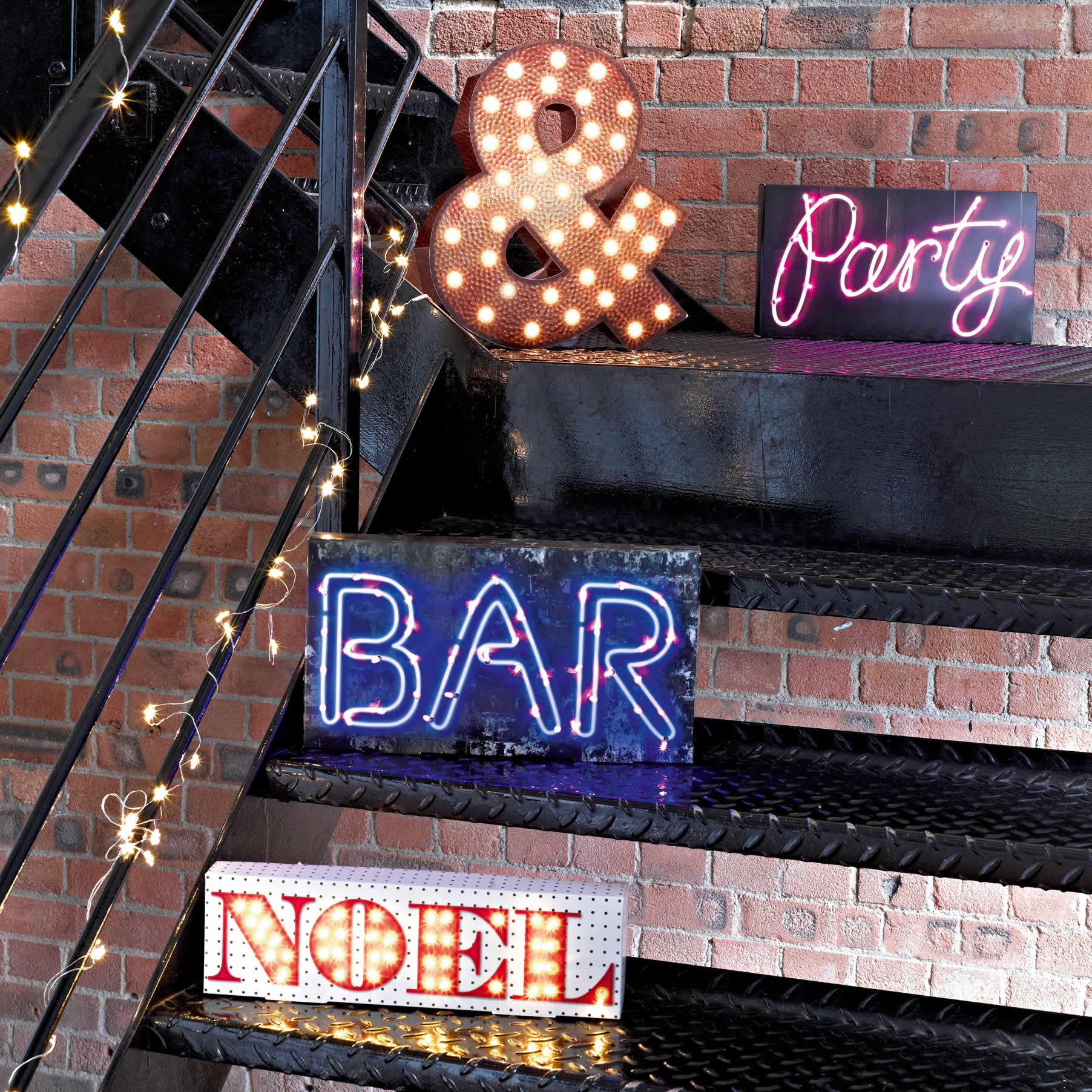 Light Up Party Signs