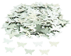 Silver Butterfly Table Confetti