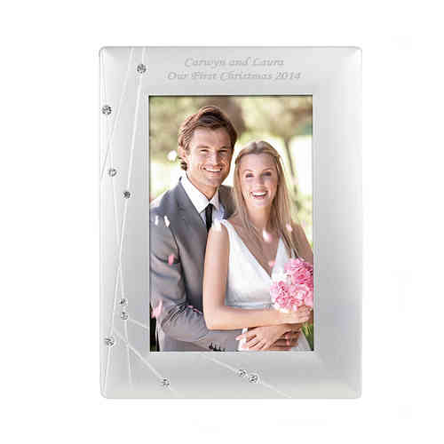 Personalised Diamante Frame - 4x6