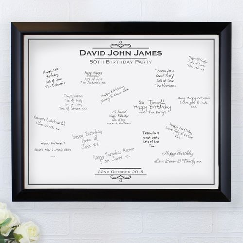 Personalised Message Frame