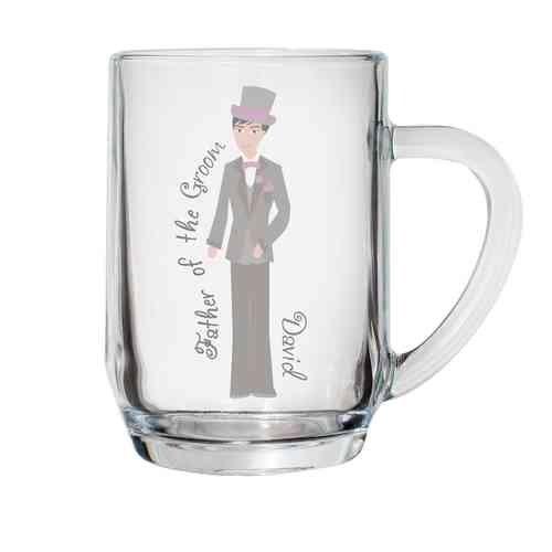 Personalised Tankard - Groom / Usher / Father of Bride or Groom