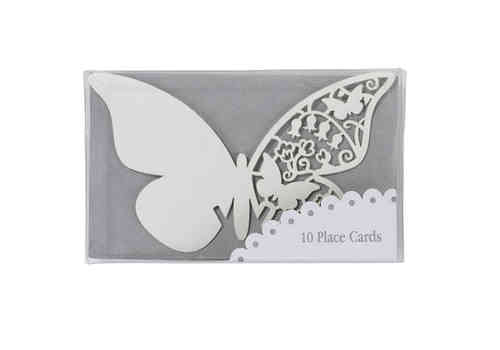 Butterfly Place Cards - Ivory