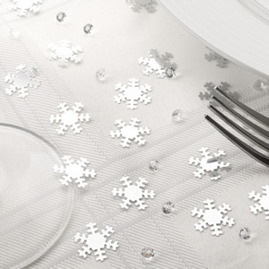 Shimmering Snowflake Table Confetti/Crystals