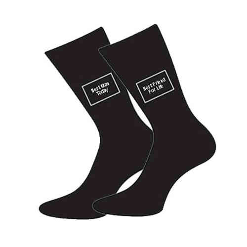 Best Man Today - Best Friend For Life Socks