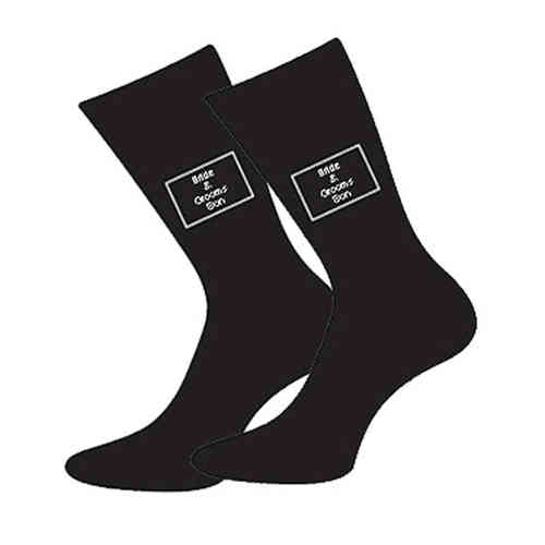 Bride & Grooms Son Wedding Socks