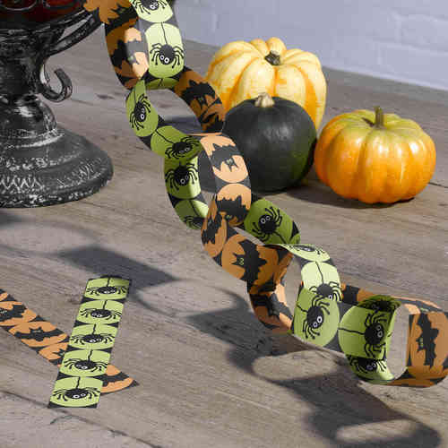 Happy Halloween Paper Chains