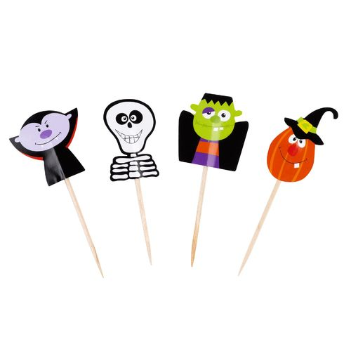Trick or Treat Cake Picks