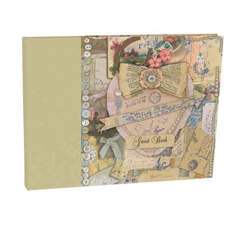 Vintage Style Guest Book