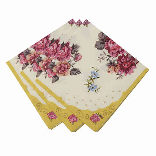 Truly Scrumptious - Floral Cocktail Napkins