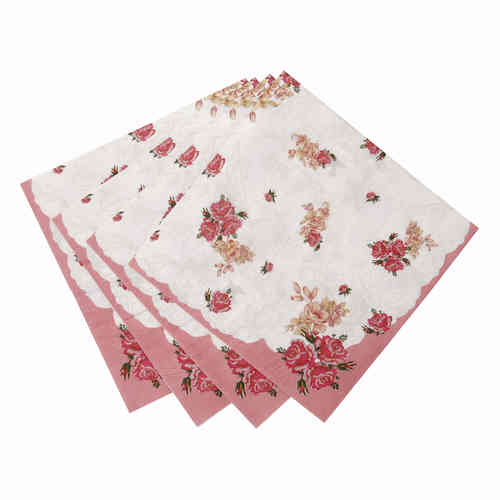 Truly Scrumptious - Extra Large Floral Napkins