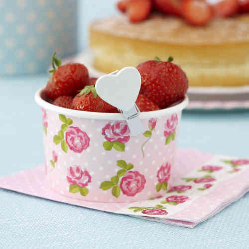 Vintage Rose - Treat Tubs