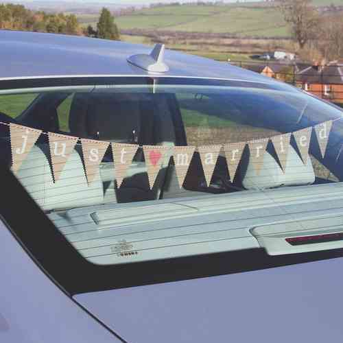 Just My Type - Car Bunting