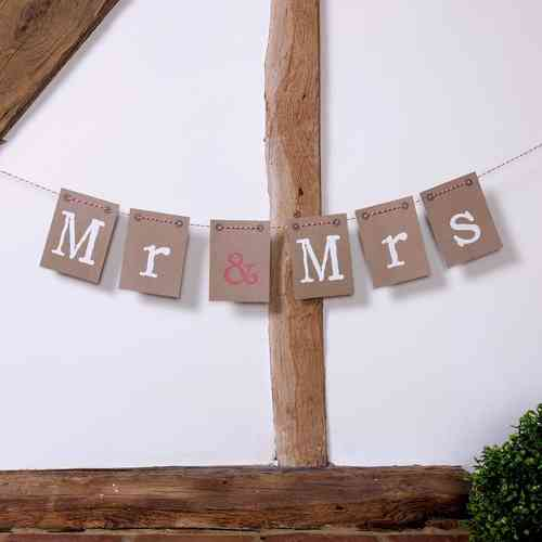 Just My Type - Mr & Mrs Bunting