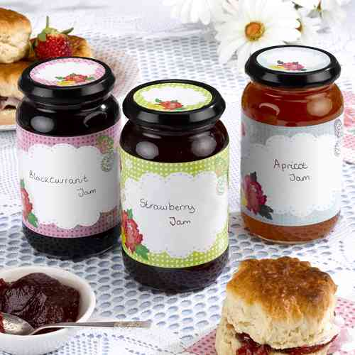 Fancy That - Jam Jar Labels